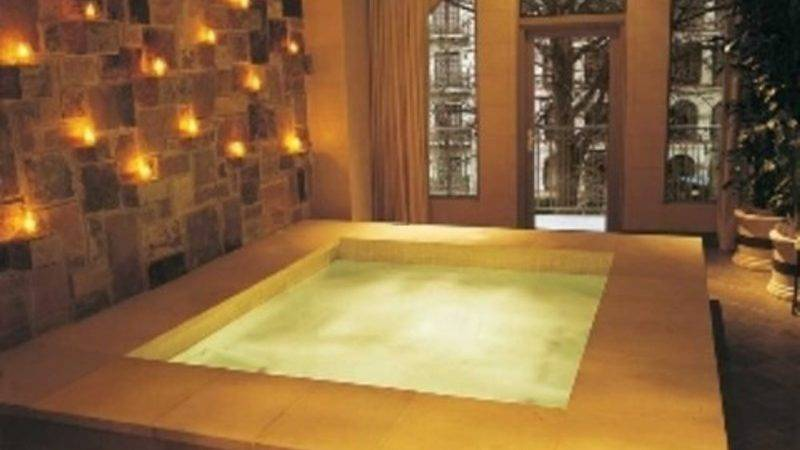 Hotel Spa San Antonio Interior Design Bookmark