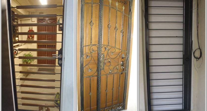 House Front Gate Grill Design Base