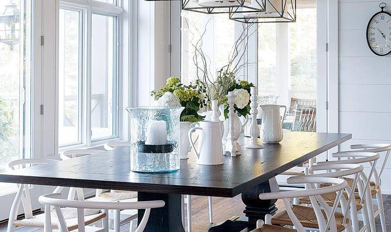 House Tour Craftsman Style Home Dining