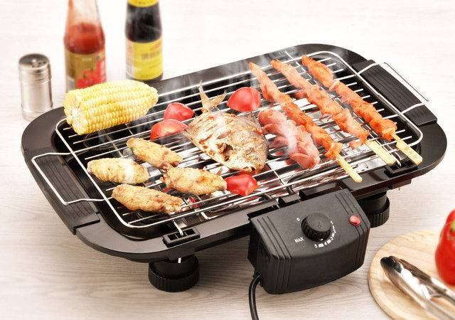Household Electric Barbecue Grill Cooking Broiler Garden