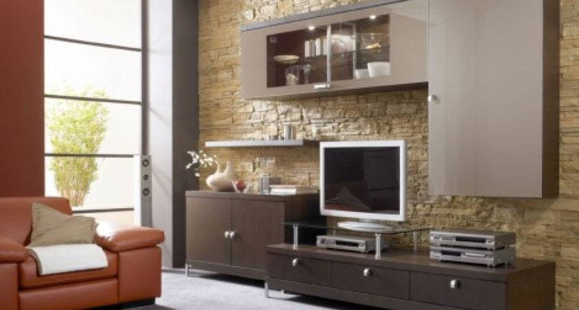 Houzz Latest Lcd Panel Living Room Home Combo