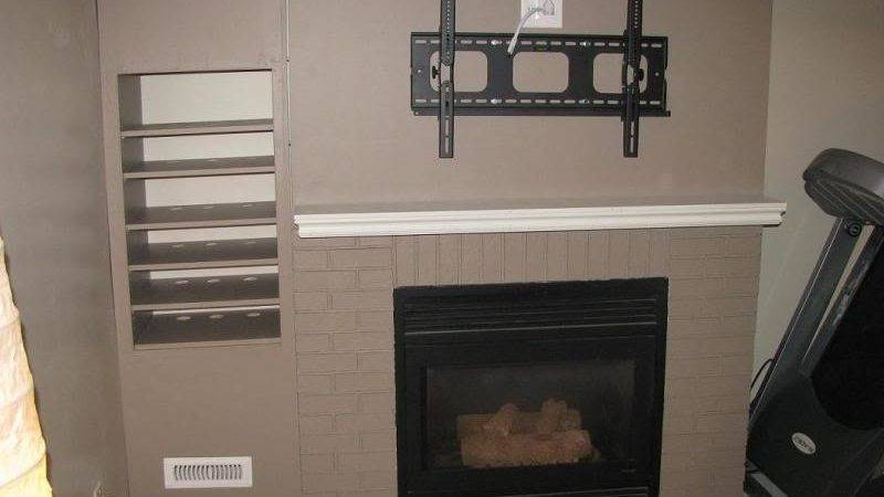 Ideal Mounting Above Fireplace Interior Exterior Homie
