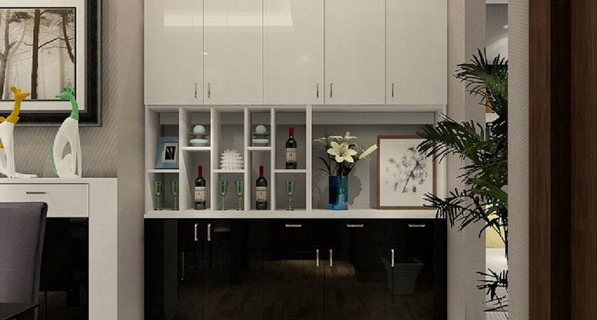 Ideas Cabinet Dining Room New Home