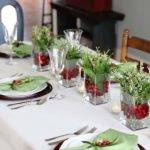 Ideas Christmas Table Decorations Easyday