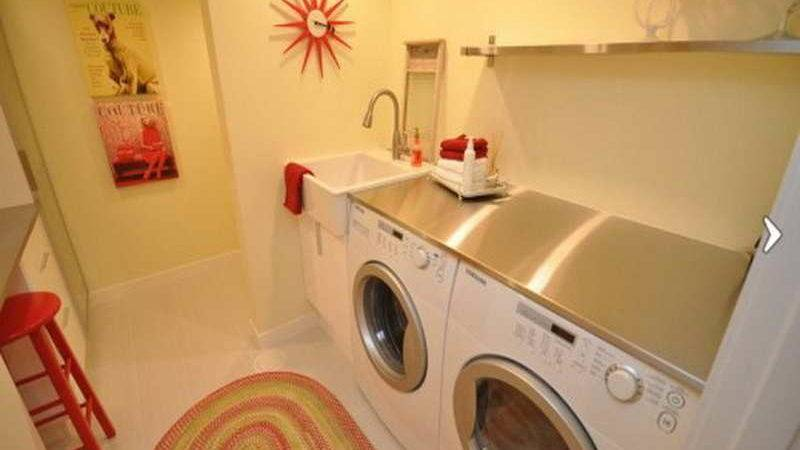 Ideas Cute Design Laundry Room Small Space