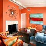 Ideas Decoraci Salones Color Naranja Casas