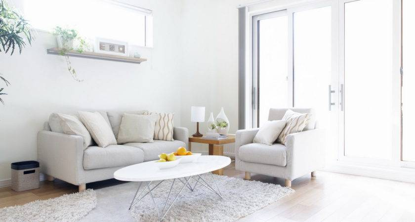 Ideas Decorate Living Room White Set