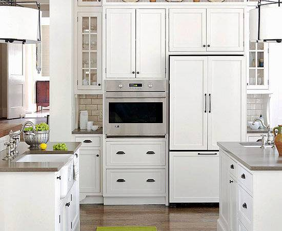Ideas Decorating Above Kitchen Cabinets