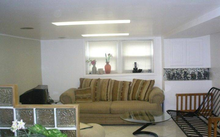 Ideas Decorating Basements Low Ceilings