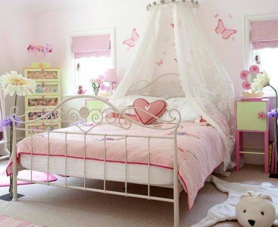 Ideas Decorating Little Girls Bedroom Home Delightful
