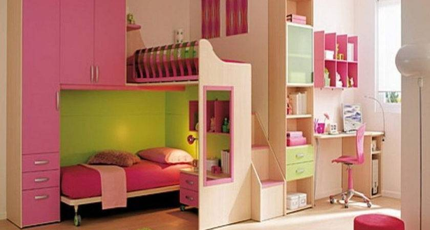 Ideas Enhancing Storage Space Small Kids Bedrooms
