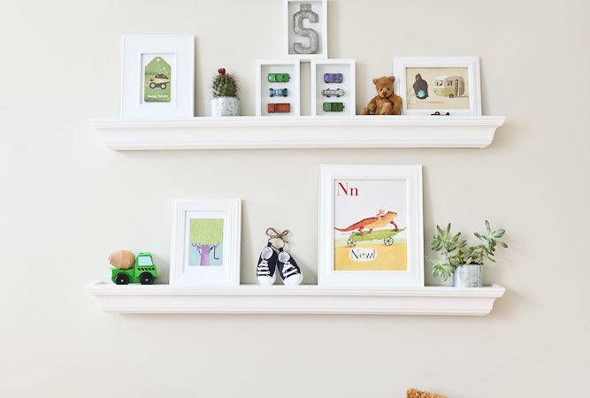 Ideas Floating Shelves Shelf Styles