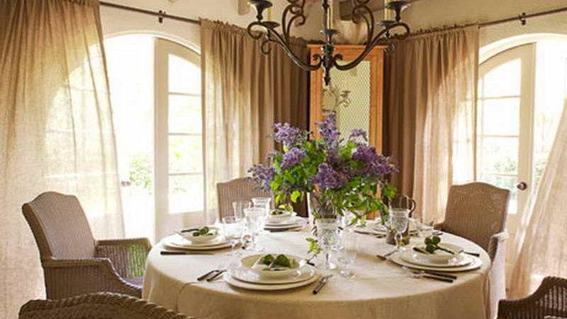 Ideas Florida Room Decorating Dinning Table