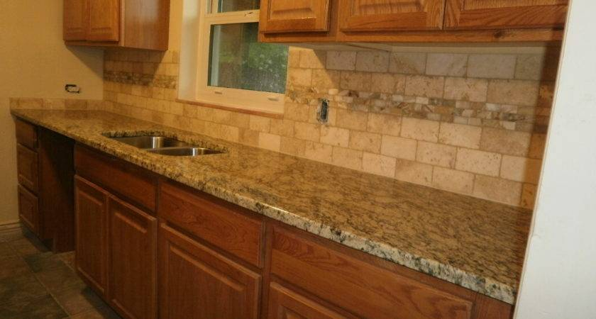 Ideas Kitchen Tile Backsplash Cecilia Granite