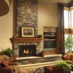Ideas Modern Living Room Designs Fireplaces