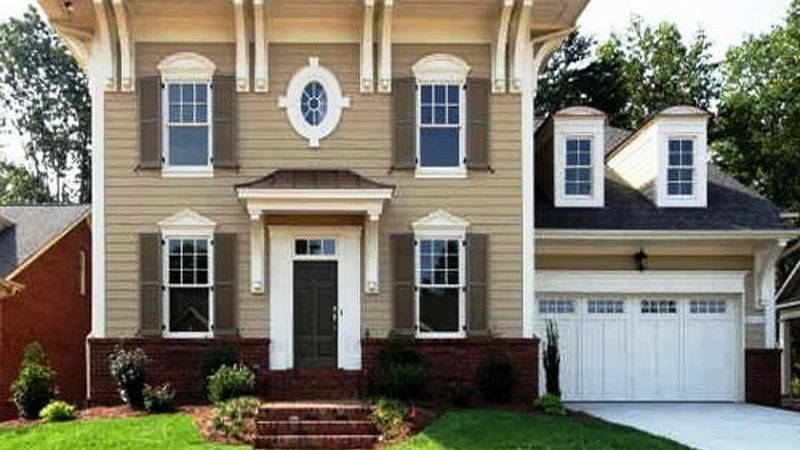 Ideas Modern Painting House Exterior Paint Color