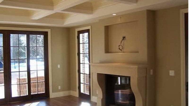Ideas New Home Interior Paint Colors Modern Living Room