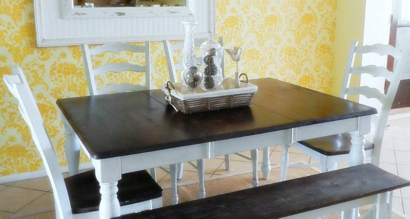 Ideas Painting Dining Room Table Chairs Home