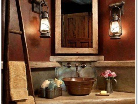 Ideas Perfect Rustic Bathroom Design