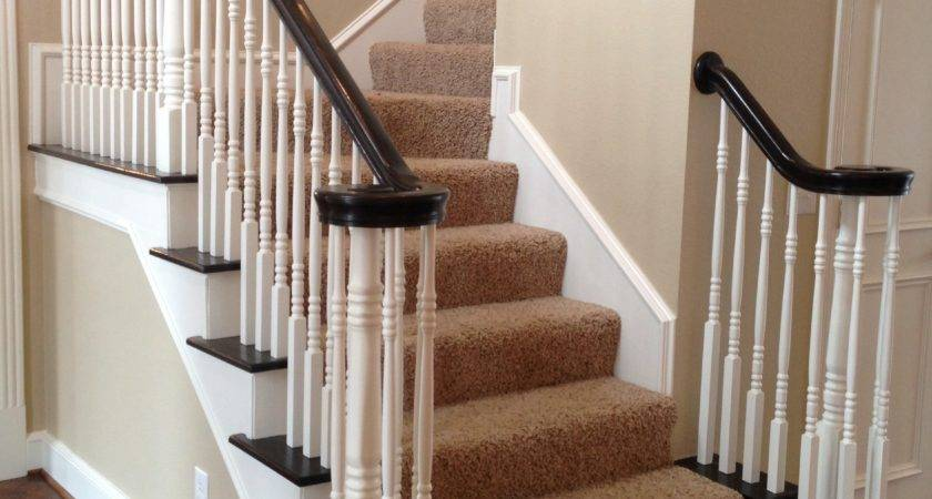 Ideas Refinished Staircase Refinish Banister