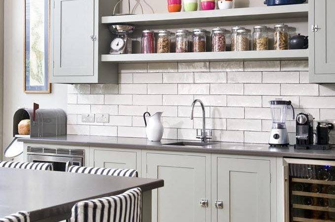 Ideas Styling Open Kitchen Shelves Brit