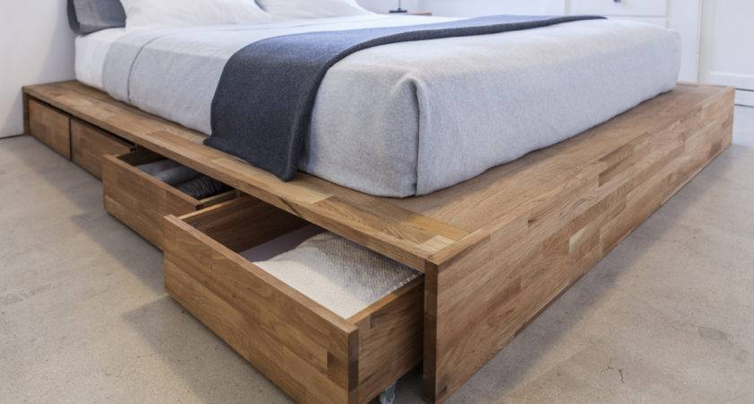 Ideas Under Bed Storage Enter Diy