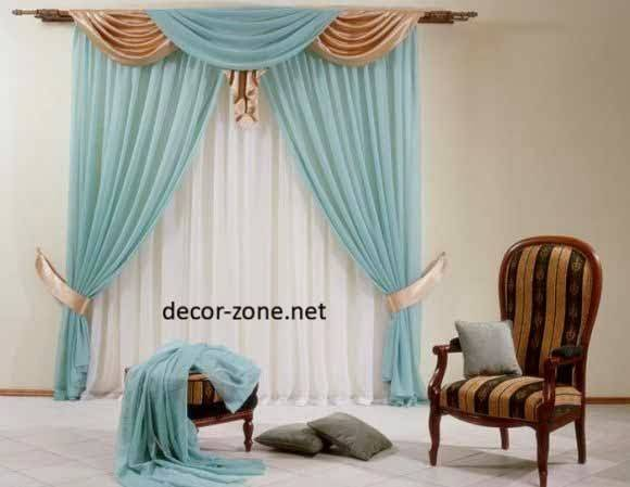 Ideas Window Curtains Living Room Designs