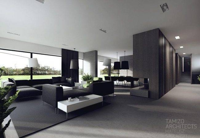 Idee Decoration Interieur Noir Blanc