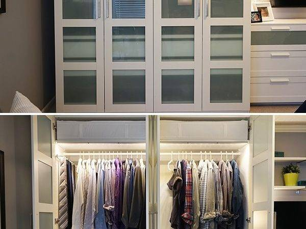 Ikea Home Tour Squad Built Custom Pax Wardrobe