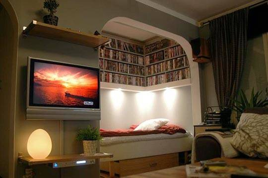 Ikea Library Designs Small Spaces Home Interior Design