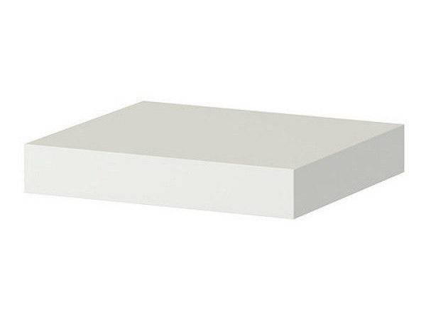 Ikea Wall Shelf White Floating Conceal Mounting Book