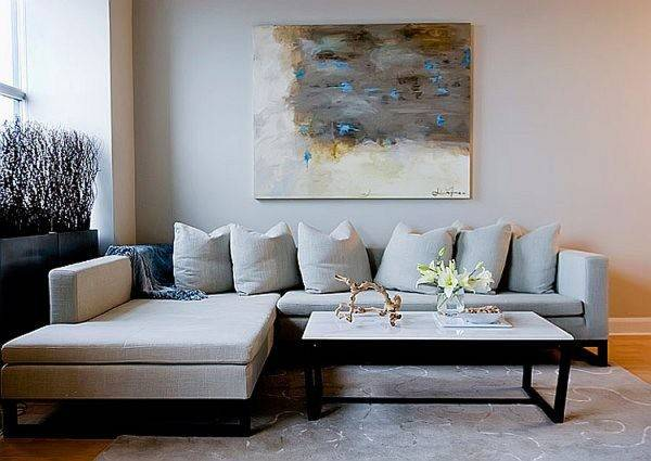 Impressive Living Room Wall Decorating Ideas Using Wooden
