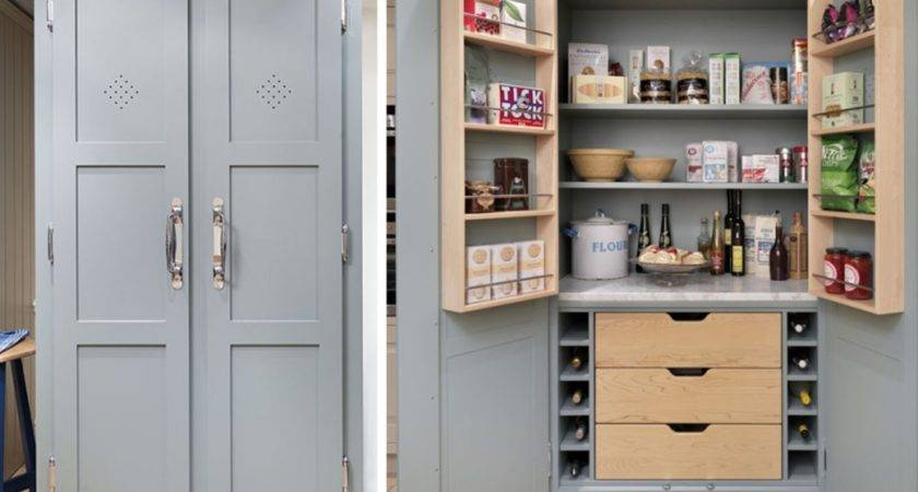 Impressive Small Kitchen Pantry Ideas Interior Design