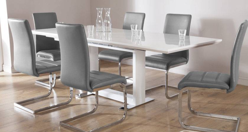 Impressive White Table Chairs Dining Sets Furniture