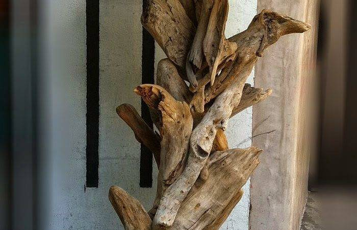 Incredibly Beautiful Lamps Made Driftwood