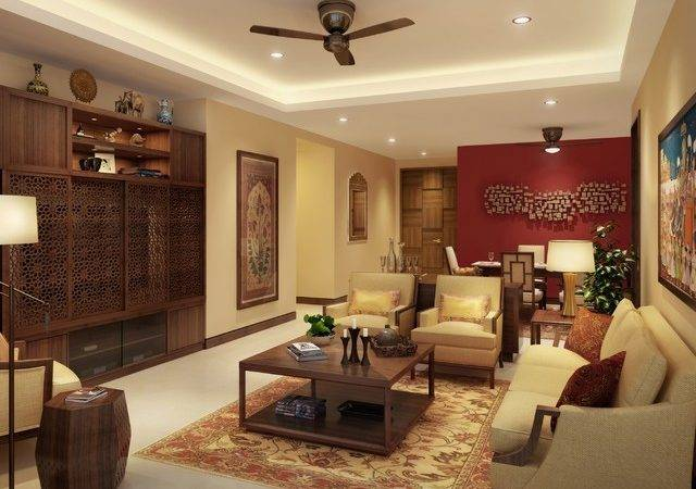 India Residential Living Room