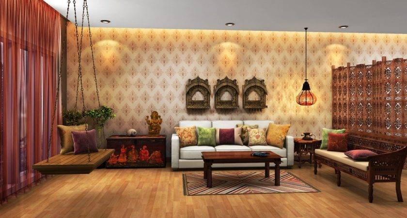 Indian Ethnic Living Room Designs Moghul Times