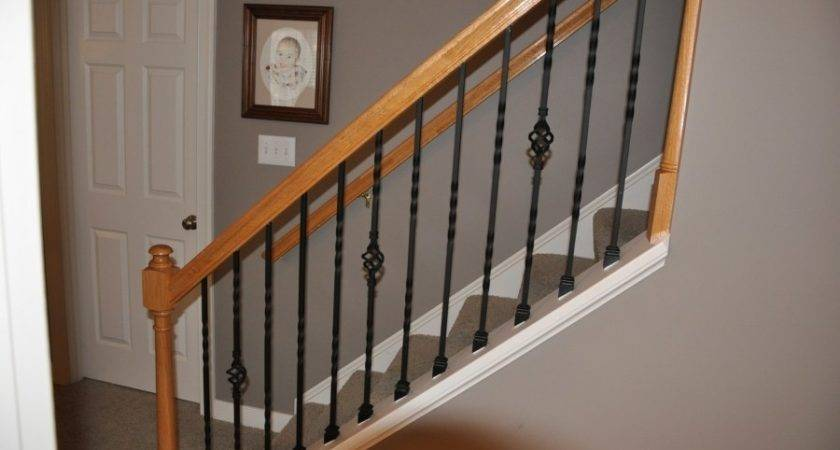 Indoor Stair Railing Kit Wrought Iron Railings