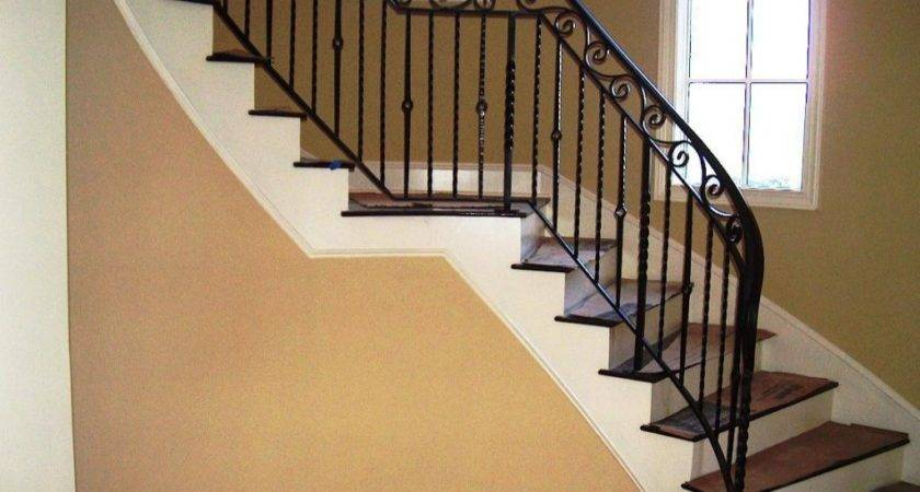 Indoor Stair Railings Ideas Railing Stairs Kitchen
