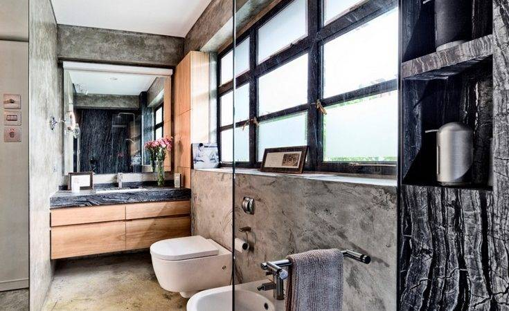 Industrial Bathroom Design Ideas Open Minded Persons