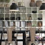 Industrial Dining Room Shelving Cabinet