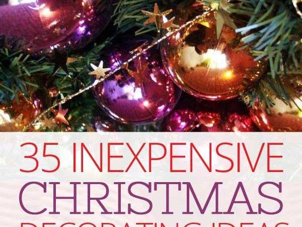 Inexpensive Christmas Decorating Ideas Budget