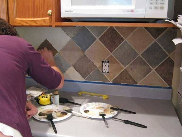 Inexpensive Easy Diy Backsplash Ideas Beautify