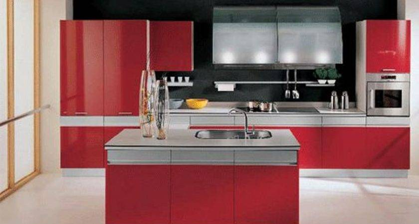 Innovative Red Kitchen Ideas Home Decor