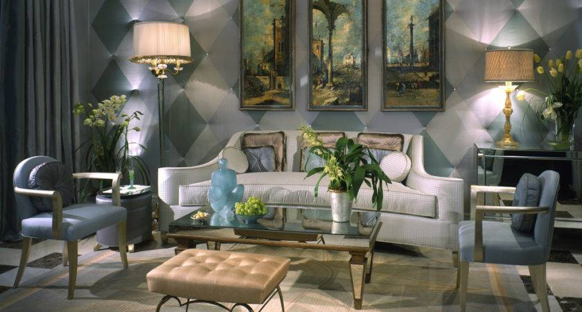 Inspirational Art Deco Living Rooms