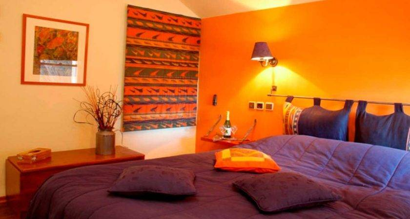 Inspirational Orange Purple Walls Your