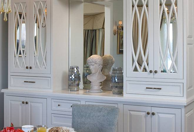 Inspired Buffet Hutch Dining Room Traditional