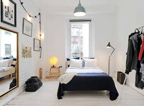 Inspiring Ideas Make Your Small Bedroom Look Larger