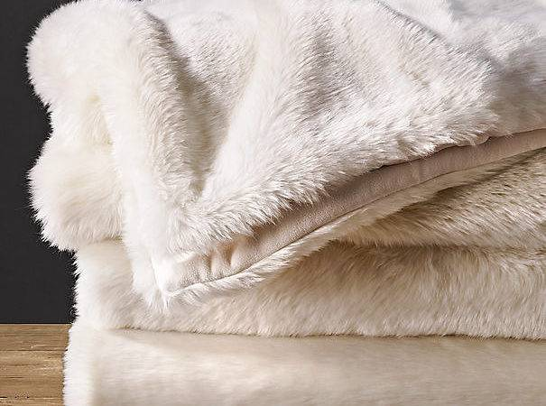 Instant Chill Buster These Luxe Faux Fur Blankets