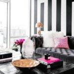 Interesting Black Grey Living Room Ideas White